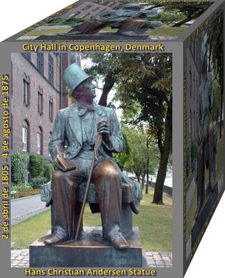 Hans Christian Andersen Denmark escritor y poeta