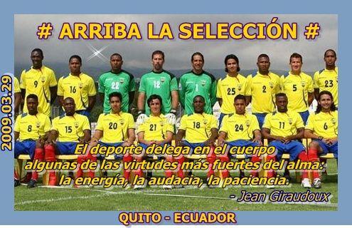 Selección del Ecuador