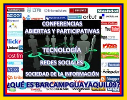 CONFERENCIAS ABIERTAS Y PARTICIPATIVAS SOBRE TECNOLOGA, REDES SOCIALES Y LA SOCIEDAD DE LA INFORMACIN.