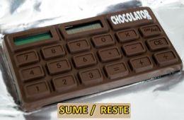 SUME Y RESTE MÁS RÁPIDO CON UNA BARRA DE CHOCOLATE