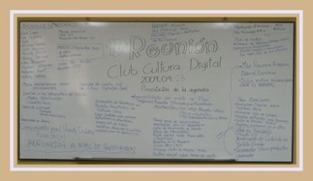 Resumen gráfico de lo elaborado en la 10ma reunión CCD ESPOL