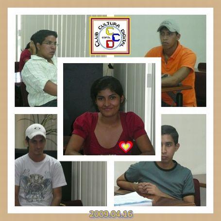BIENVENIDOS LUCIA, ALEJANDRO Y EDDY NO AUSENTARSE