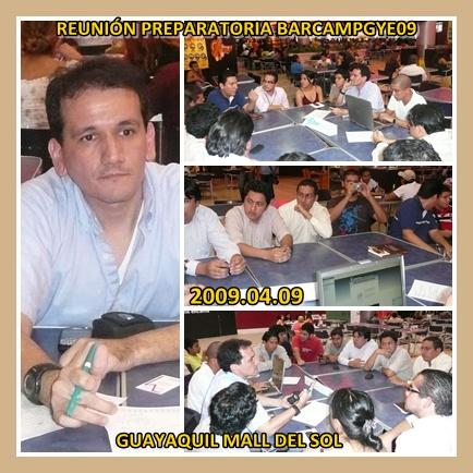 Reunión Preparatoria BarCampGuayaquil09 n1