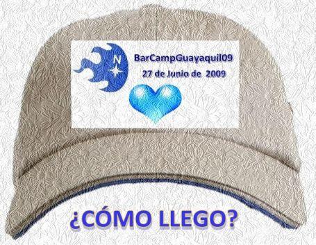 ¿Cómo llegar a BarCampGuayaquil? 2009.06.27