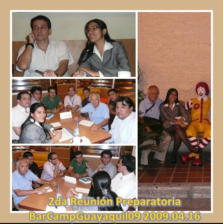 Momentos de las discusiones y aportes 2009.04.16