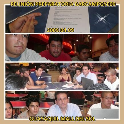 Reunión Preparatoria BarCampGuayaquil09 n3