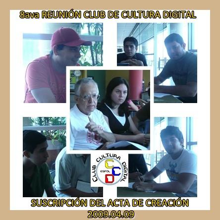 ALGUNOS FIRMARON CON TESTIGOS el acta constitutiva del CCD 20090409