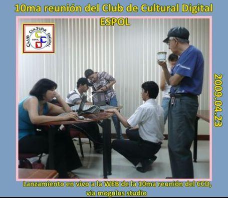 La 10ma reunión CCD se difundió en vivo para toda la WEB