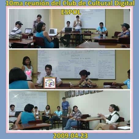 Momentos de trabajo creativo del CCD 10ma reunión