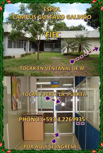 la oficina se encuentra a 150 m de la parada de buses (5ta) FIEC
