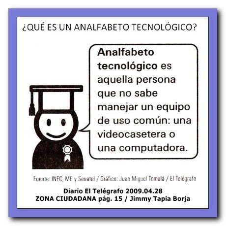 ANALFABETA TECNOLÓGICO