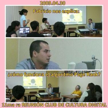 Video expuesto por Fabricio Echeverría en la 11ma ra sesión del CCD