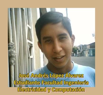 José Andrés Lopez Álvarez ESTUDIANTE FIEC