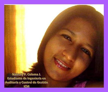 Srta. Nathaly Coloma Jiménez, ICM