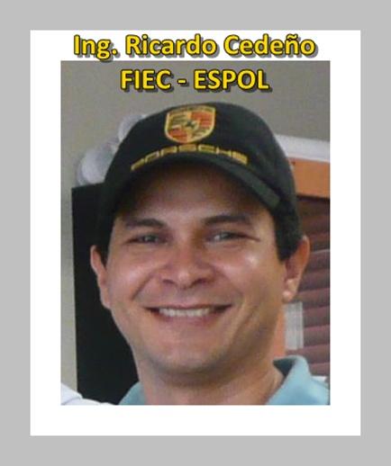 Ricardo Cedeño, FIEC – ESPOL