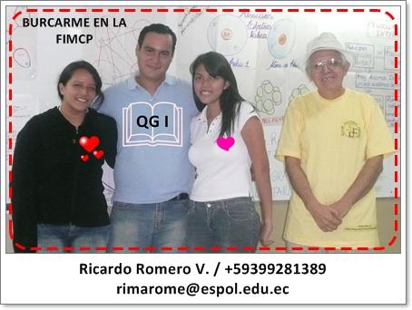 AYUDANTE RICARDO ROMERO / BUSCAR EN LA FIMCP