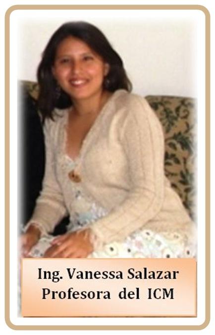Vanessa Salazar V., Profesora, Instituto de Ciencias Matemáticas, Guayaquil, Ecuador
