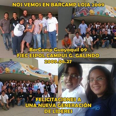 Nos vemos en BarCamp Loja 2009