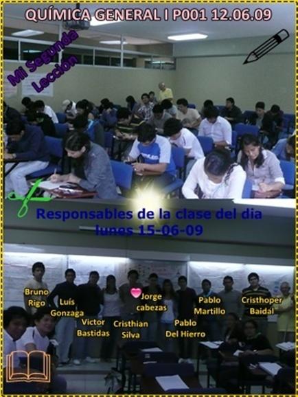 Responsables por la clase del lunes 15.06.09