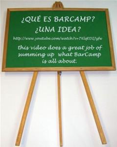 poe favor, apreciar vídeos sobre BarCamp