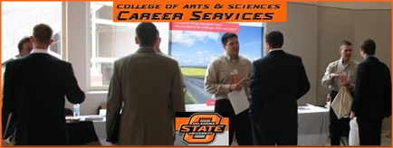 College of Arts and Sciences Career Services de la Universidad Estatal de Oklahoma (USA)