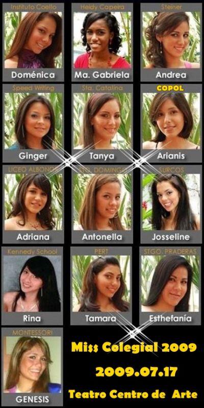 Bellas Representantes del Guayas