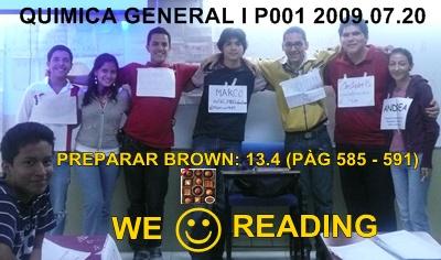 GRUPO DE RESPONSABLES PRÓXIMA CLASE 2009.07.24