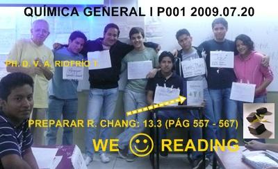 2DO GRUPO DE RESPONSABLES PRÓXIMA CLASE 2009.07.24