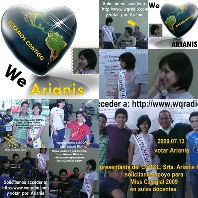 Gracias por su visita Miss COPOL 2009 La apoyamos todos