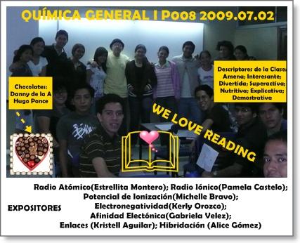 Responsables clase 2009.07.03