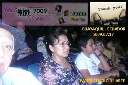 Familia Riofrío Díaz hace barra por MISS COPOL