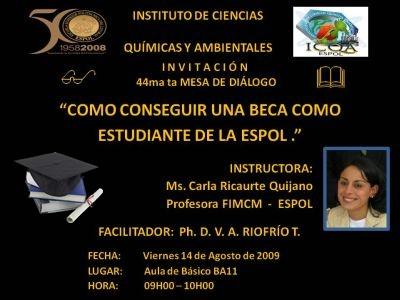 Intructor: Carla Ricaurte Quijano ¿Cómo Ganar una Beca?