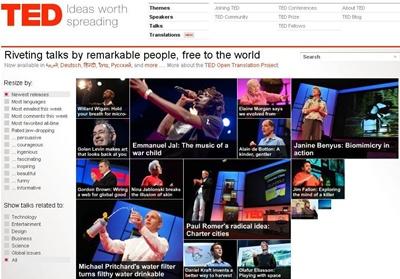 visitar TED.com. Suscribirse.