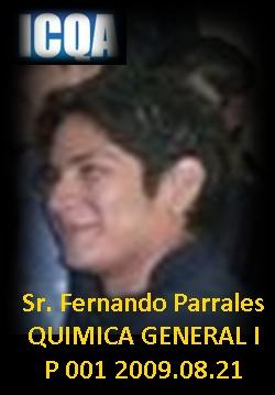 Sr. Fernando Parrales, P001, 2009.08.21, ESPOL - ICQA