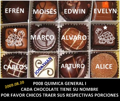 Los chocolates son catalizadores del aprendizaje significativo. No Fallan