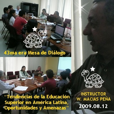 Lcdo. Washington Macas Pea sobre Tendencias de la Educacin Superior