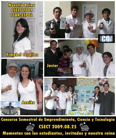 Nuestra Reina e Invitados al CSECT 2009.08.24
