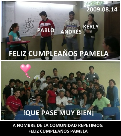 FELIZ CUMPLEAOS PAMELA (TODOS TE QUEREMOS MUCHO)