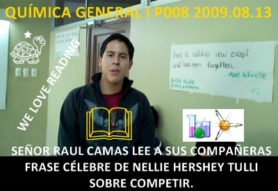 Raul Camas explica una frase clebre de Nillie Hershey Tulis