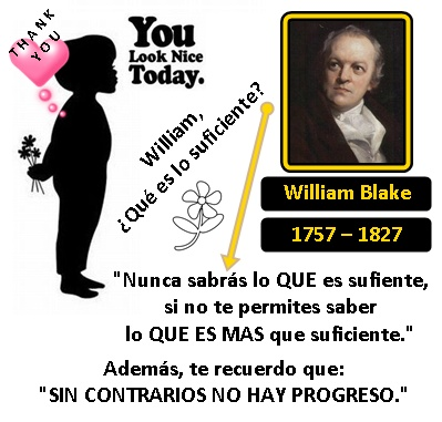 You look nice today, Mr. William Blake