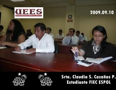 ESTUDIANTES DE LA ESPOL SE FORMA EN RESPONSABILIDAD SOCIAL
