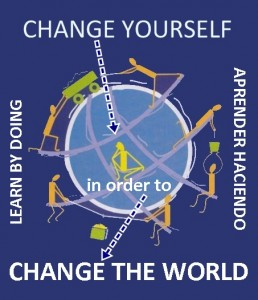 aprender haciendo, LEARN BY DOING, change the world