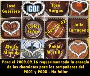los chocolates son eficientes catalizadores para aprender