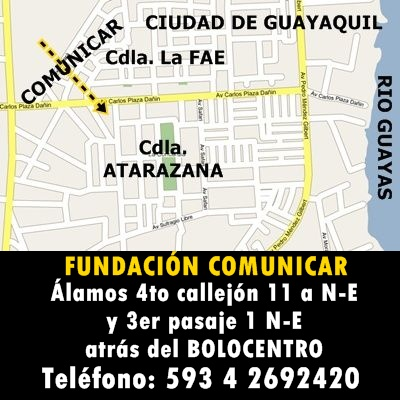 UBICACIÓN DE LA FUNDACIÓN COMUNICAR