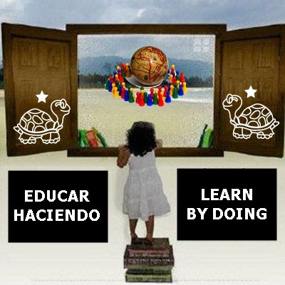 educar haciendo, learn by doing, aprender haciendo