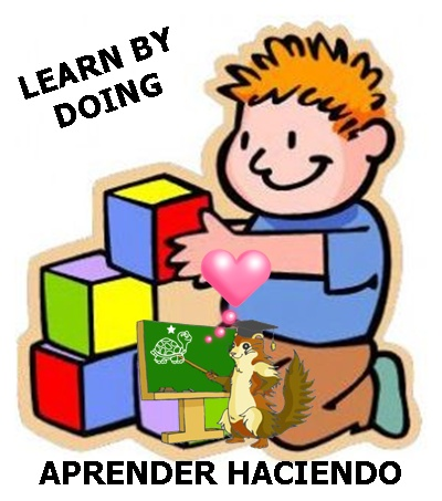 LEARN BY DOING, ENSEAR HACIENDO, APRENDER HACIENDO