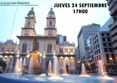 PLANTÓN, JUEVES 24 DE SEPTIEMBRE, 17H00, PLAZA SAN FRANCISCO