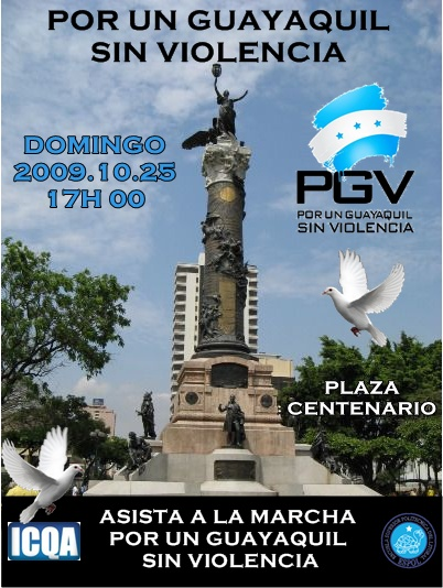 POR UN GUAYAQUIL SIN VIOLENCIA