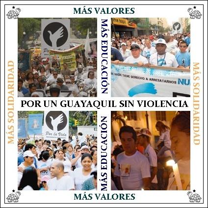 UN MINUTO DE SILENCIO POR LAS VICTIMAS DE LA VIOLENCIA