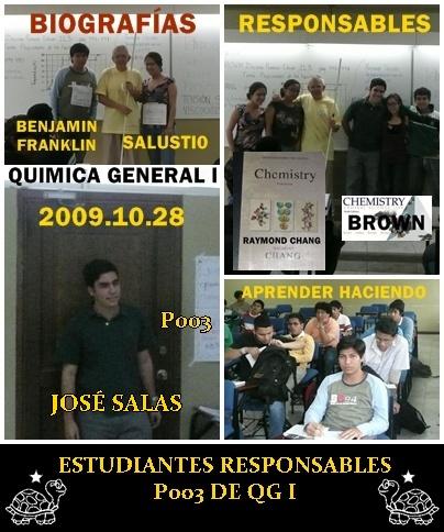 ESTUDIANTES RESPONSABLES DE P003 QGI